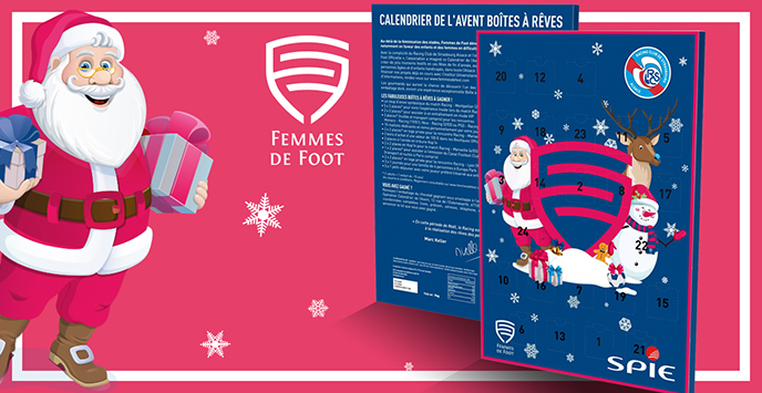 Calendrier De Lavant Femme.Calendrier De L Avent Boites A Reves Racing Club