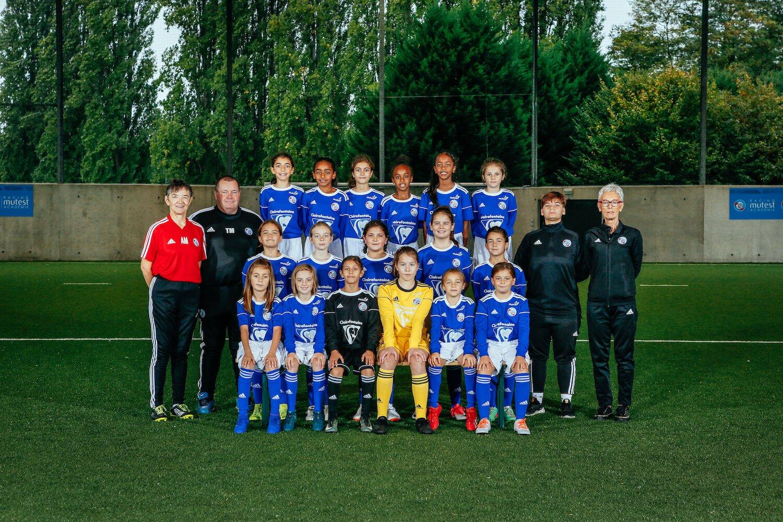 equipe u11 feminine 19 20