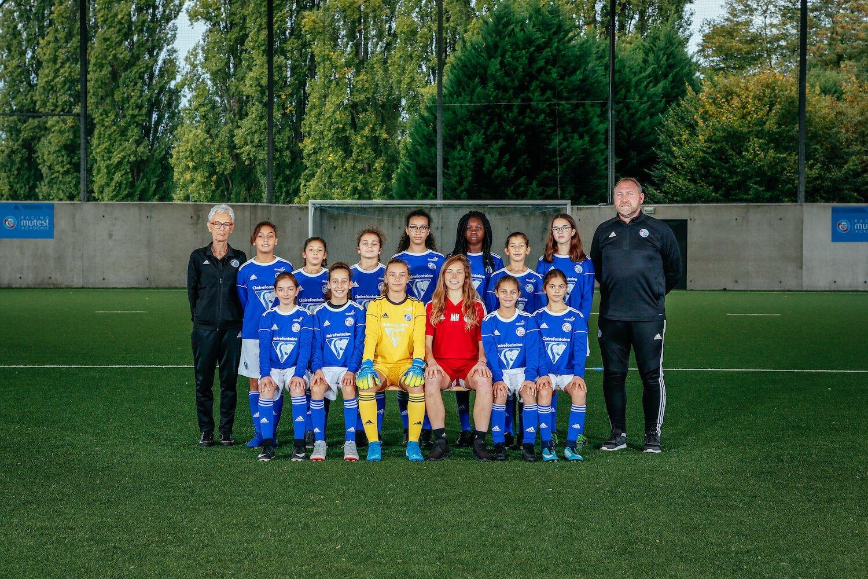 equipe u13 féminine 19 20