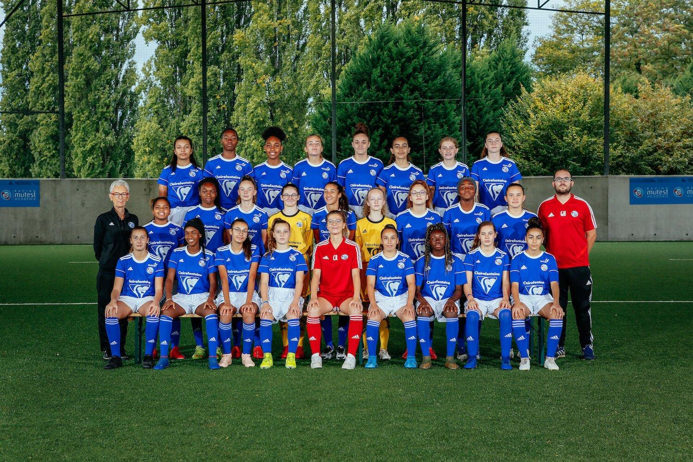 equipe u15 feminine 19 20