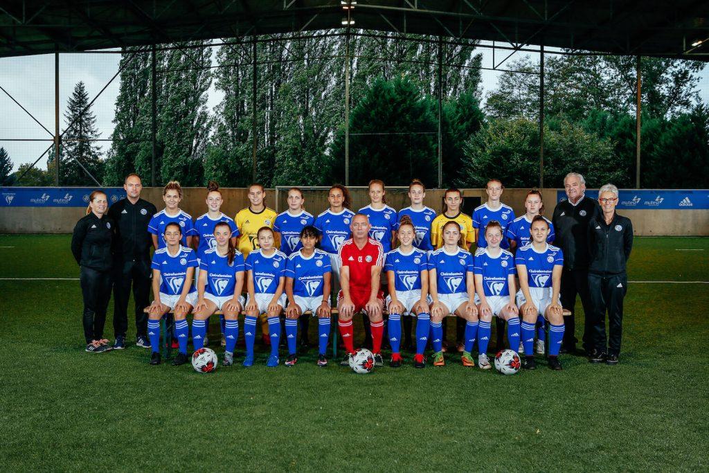 equipe u18 feminine 19 20