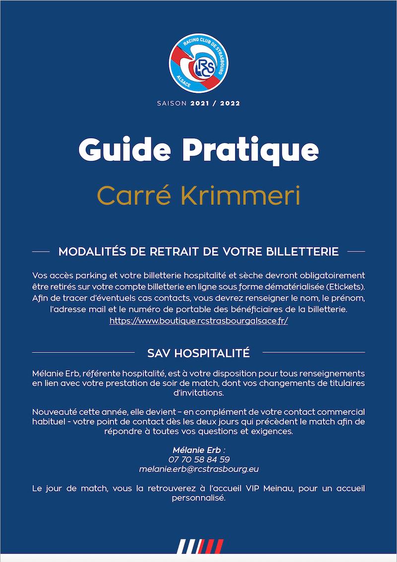 Guide Pratique Carré Krimmeri